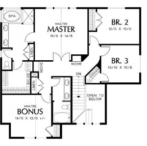 Akron Floor Plans Homes by Ashley